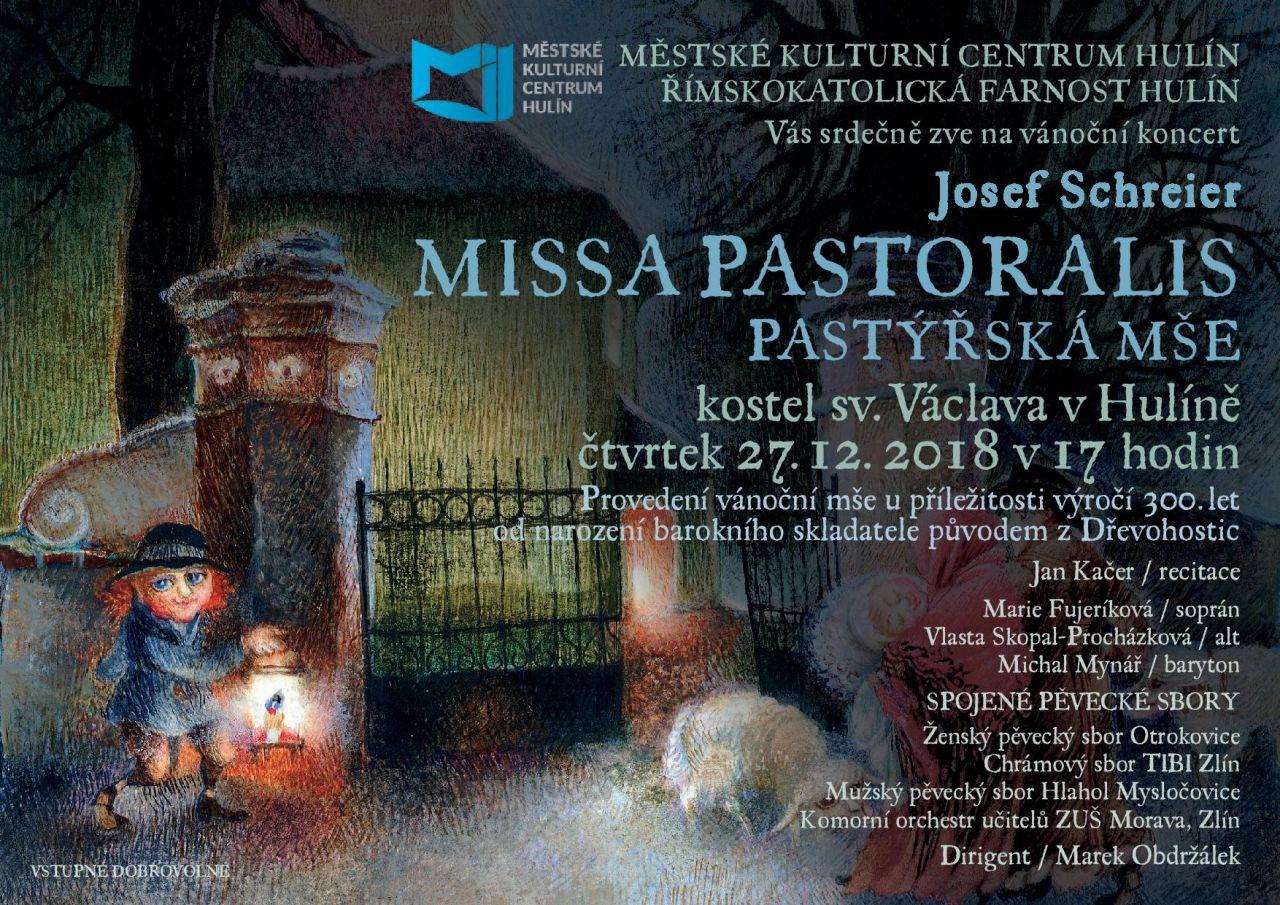 PASTÝŘSKÁ MŠE - MISSA PASTORALIS