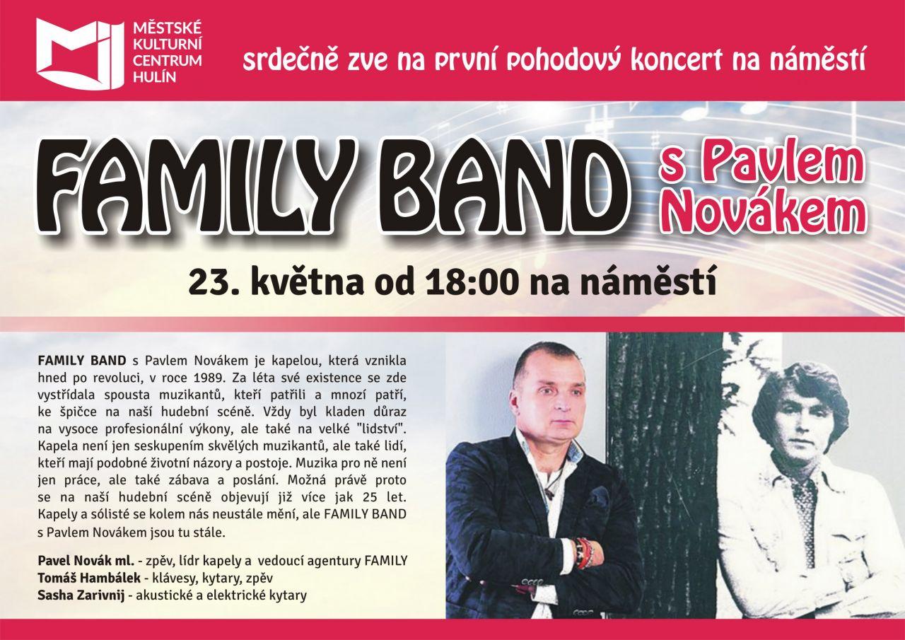 FAMILY BAND S PAVLEM NOVÁKEM